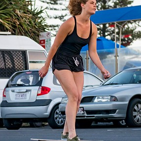 G85 - AFC & tracking test - Skater Girl