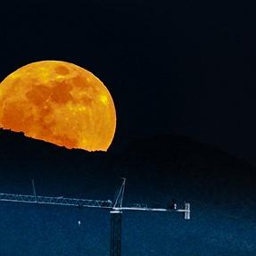 Wolf moon 1-1-18, Tucson AZ