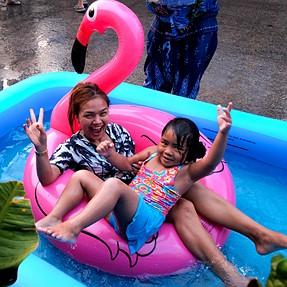 Thailand Water Festival Songkran