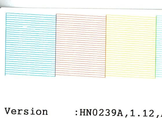 Strange Epson nozzle check pattern: Printers and Printing Forum