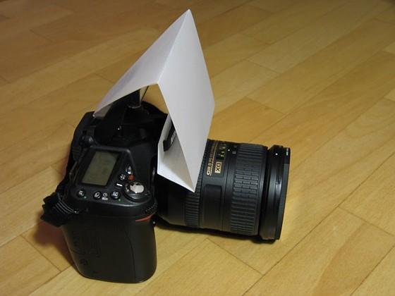 Diy D90 Pop Up Flash Diffuser Nikon Dx Slr D40 D90