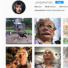 Renowned self-portrait photographer Cindy Sherman goes public on Instagram