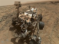 Mars Curiosity rover sends 'selfie' from its ongoing tour of Mars