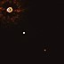 Astronomers capture first-ever image of two exoplanets orbiting a 17M year-old Sun-like star