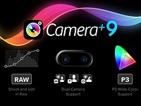 Camera+ updated for dual-cam compatibility and Raw
