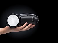 The Profoto A1 is the 'world's smallest studio flash' and Profoto's first on-camera flash
