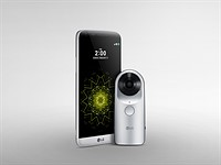 LG 360 CAM captures spherical images optimized for Google Street View