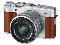 Fujifilm's new X-A5 adds phase-detect AF and 4K (sort of) video capture