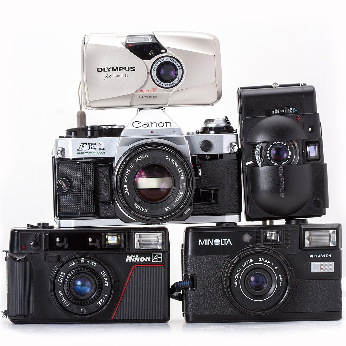Top ten digital cameras under 100