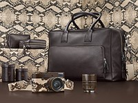 Leica, Lenny Kravitz produce limited edition 'Drifter' M Monochrom with snakeskin finish