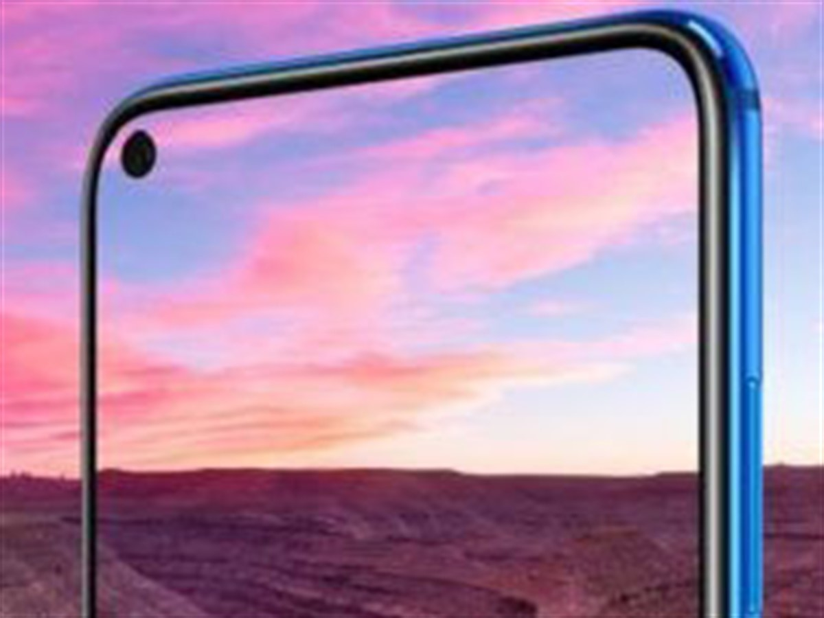 Samsung and Huawei introduce the 'hole-punch' front camera in their