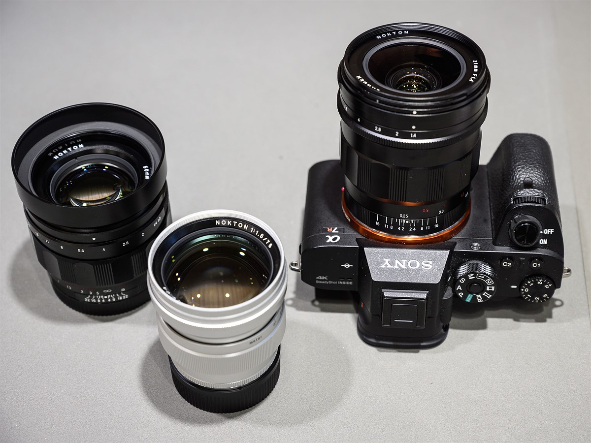 CP+ 2019: Voigtländer shows new manual focus lenses for Sony E-mount and Leica M
