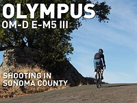 Shooting with the Olympus OM-D E-M5 Mark III in Sonoma County