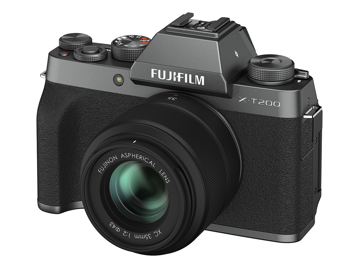 Fujifilm X-T200 is lighter, faster, offers 4K/30p and costs $800