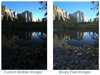 Binary pixel sensor tech to boost smartphone image quality