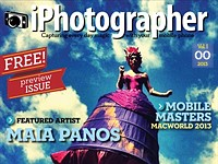 iPhotographer magazine hits Apple's digital newsstand