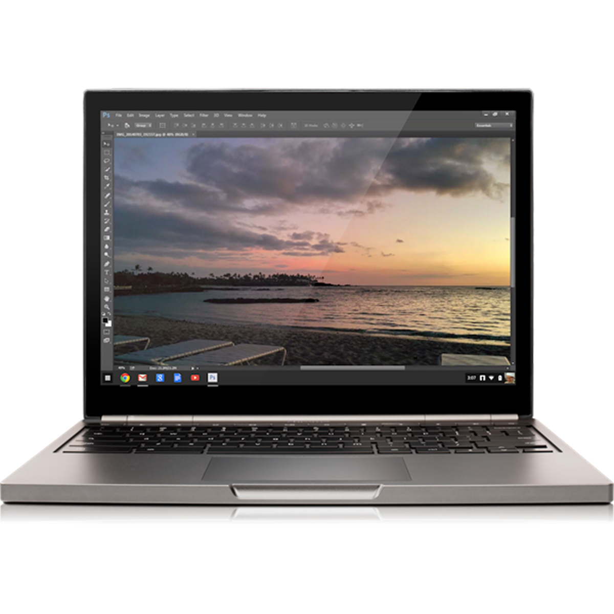Photoshop comes to Chrome OS in limited beta: Digital Photography Review
