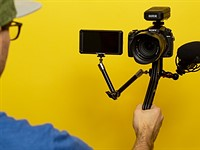 SwitchPod is a 'minimal' handheld tripod that switches modes in seconds