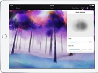 Pixelmator 1.1 brings watercolors and improved color picker