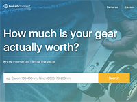 Bokeh Market site tracks used camera market value, offers alerts on price changes