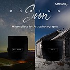 Samyang teaser suggests two new astrophotography prime lenses will be released later this month