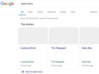 News links on Google may lose thumbnail photos under EU Copyright Directive