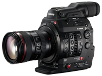 Canon C300 Mark II announced with new 8.85MP 35mm sensor and 4K recording