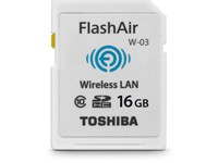 Toshiba offers FlashAir III wireless SD card