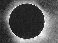 This is the first photo of a total solar eclipse ever taken, shot in 1851