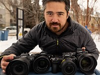 DPReview TV: High resolution mirrorless cameras compared