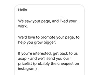 Some Instagram accounts are asking photographers to 'pay to be featured'