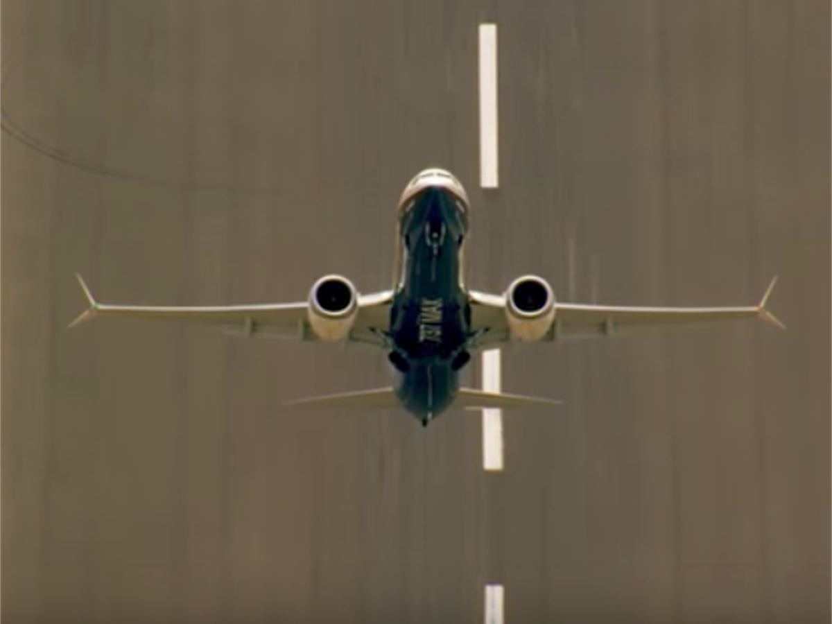 This video of Boeing's new planes has nothing to do with