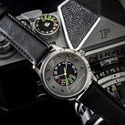 Nikon F 60th anniversary sale includes a special wristwatch with shutter speed dial