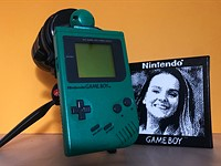 Video: How to capture a 0.1MP portrait with a Game Boy Camera and 70-200mm lens