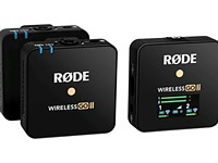 Rode's new Wireless Go II system now offers dual channel recording, onboard storage and more