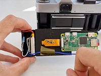 Video: 3D printed film canister and Raspberry Pi camera can turn an old film camera into a digital camera