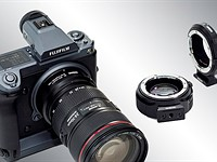 Mount any Canon EF lens to Fujifilm's GFX cameras with Metabones new EF-GFX Smart Expander adapters