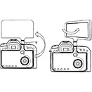 Canon patents a huge, hinged and reversible DSLR LCD