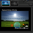 Sony's new Sky HDR app mimics the effect of a graduated ND filter
