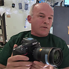 NASA astronaut Jeff Williams showcases ISS photography equipment