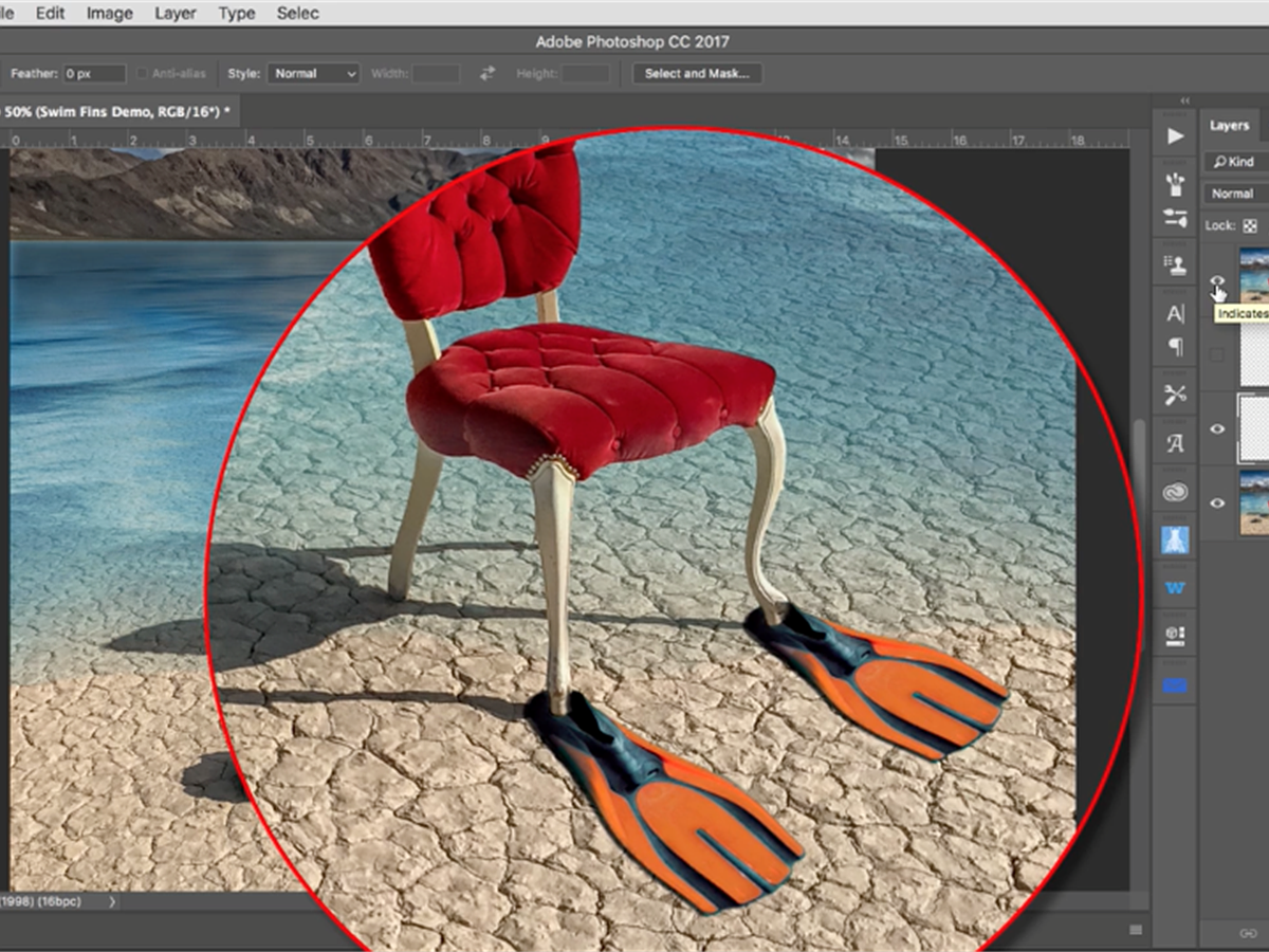 Video: a grayscale method for matching colors in Photoshop