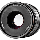 Kamlan 28mm F1.4 APS-C lens unveiled with upcoming Kickstarter campaign