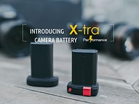 UPDATE: X-tra promises a fresh take on the conventional camera battery with its innovative offering
