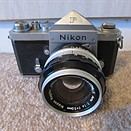 Collector's item: Nikon's 87th F SLR camera up for auction on eBay
