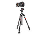 Manfrotto adds Befree Advanced Carbon, GT and Live Carbon models to travel tripod line