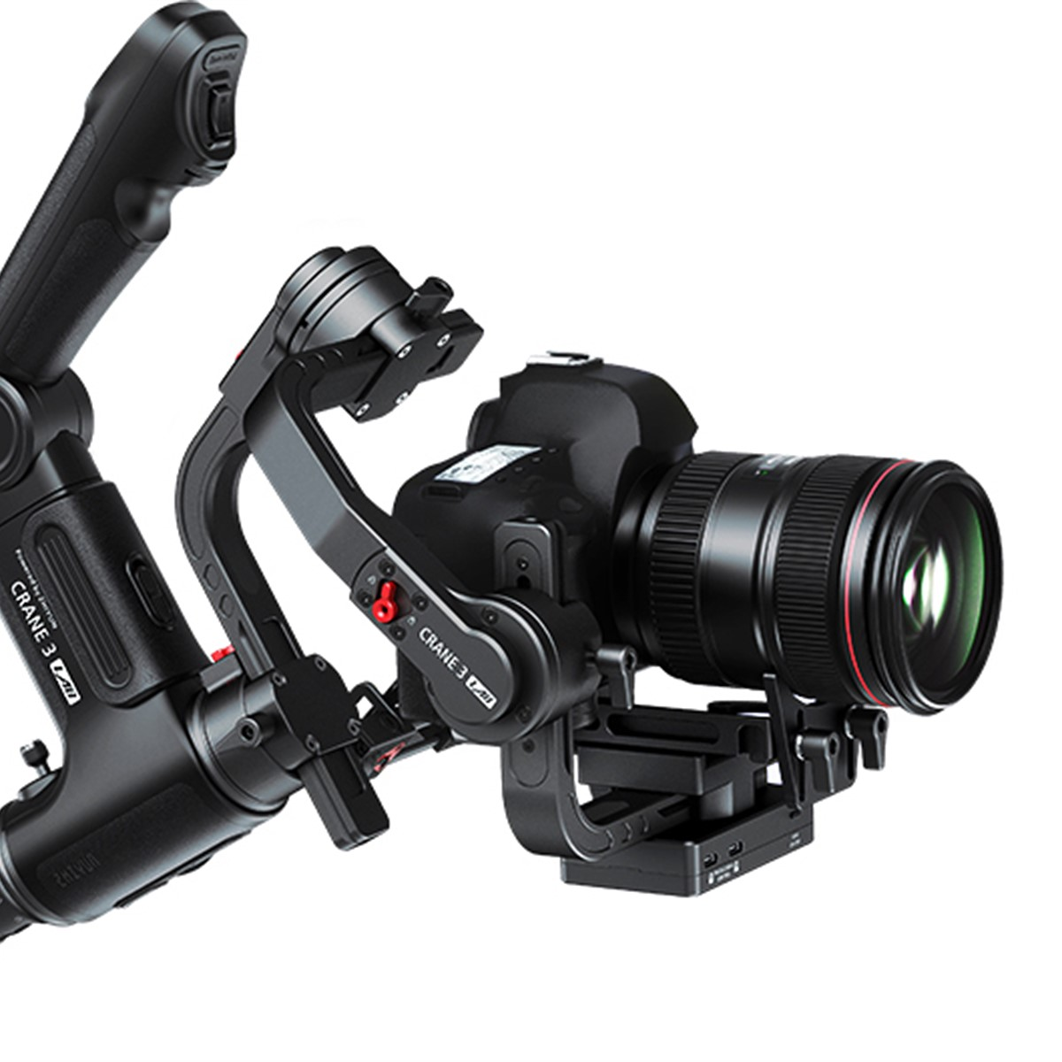 Zhiyun-Tech adds zoom, smartphone control on its new Crane 3