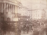 Here's the first known photo of a US Presidential Inauguration