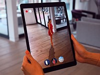 The Photo Studio AR app lets you 'simulate' a photo shoot with 3D models