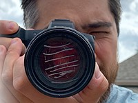 DPReview TV: How much do scratches, dust and fingerprints affect lens image quality?