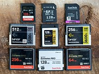 A detailed breakdown of all the memory card options for photographers